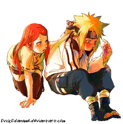 imagenes en png de naruto minato and kushina by fvckfdaname on deviantart