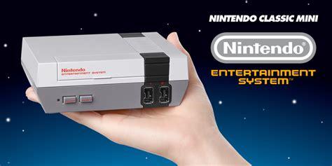 nintendo s nes classic is nintendo classic mini une nes en une console adorable