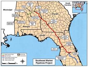 marcellus utica gas may to ga fl via alabama