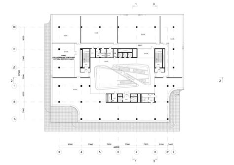 office building floor plan dominion office building third floor plan courtesy of zaha hadid architects архитектура