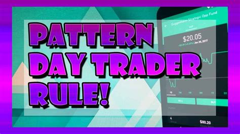 pattern day trader rule pattern day trader rule and unlimited day trading