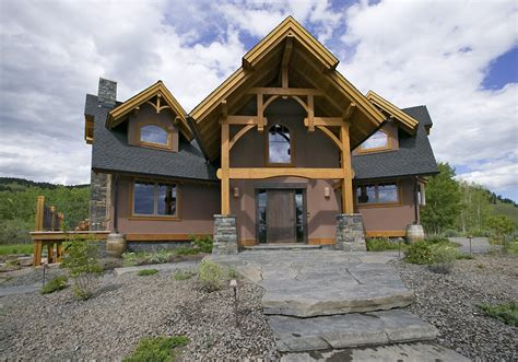 hybrid timber frame home plans hamill creek timber homes residential timber home ridgeview timber home hamill creek