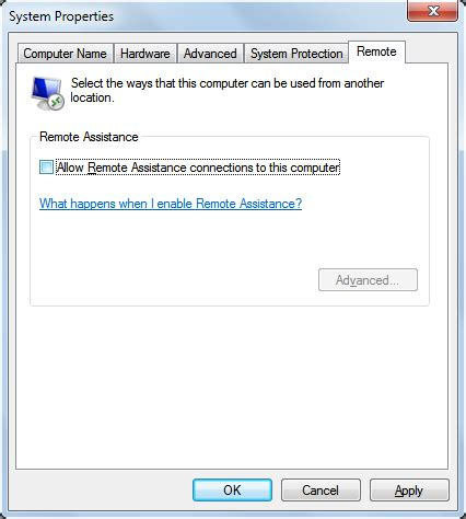 pattern lock disabled by remote administrator lock down your pc by disabling remote assistance