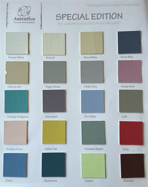 chalk paint autentico colores three rooms autentico chalk paint
