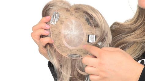 top crown filler short woman short top piece by amore hairpiece youtube