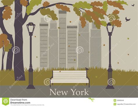 crestock royalty free stock photos vector autumn park new york stock vector image of national