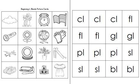 L Blend Worksheets by Image Gallery L Blends