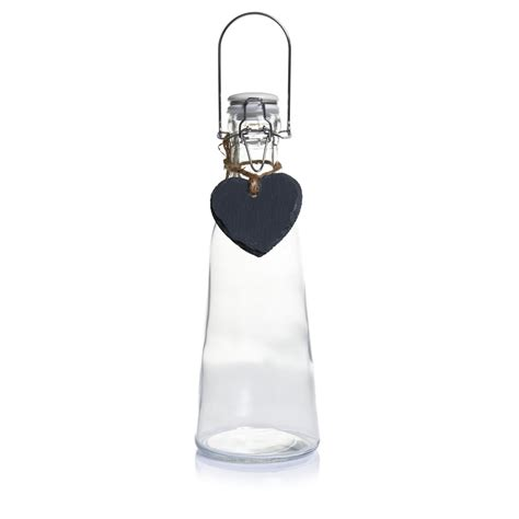 wilko swing top bottles wilko clip top water bottle with chalk heart at wilko com