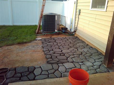 extending the concrete patio lcruzproperties