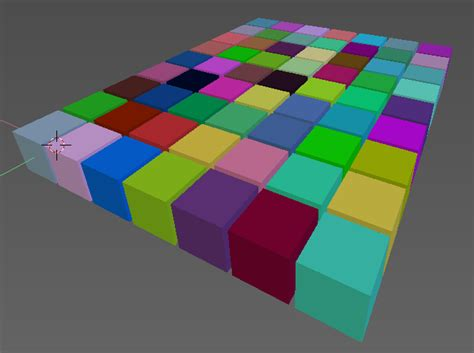 small blender things blender addon assign random vertex colors to connected vertices