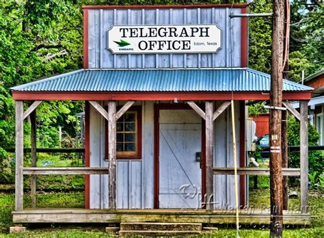 Post Office Grapevine Tx by Telegraph In Edom Exterior