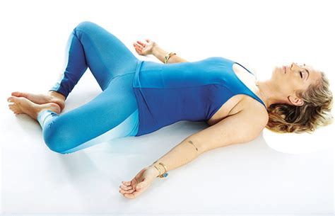Reclined Bound Angle Pose by 5 Poses To Sleep Better Tonight