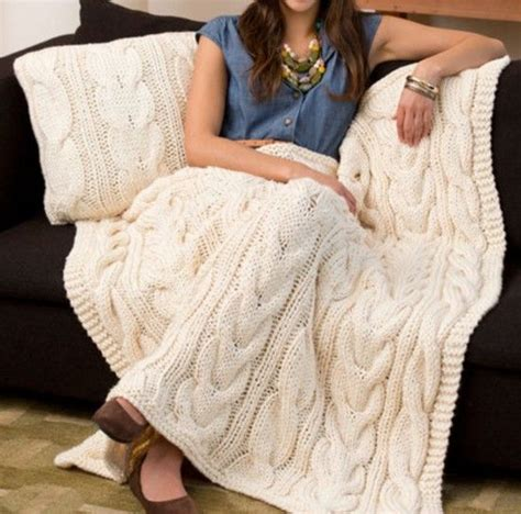 free knitting patterns for throw rugs chunky cable knit throw blanket easy tutorial free pattern cable and blanket