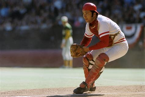 johnny bench photos rare si photos of johnny bench si com