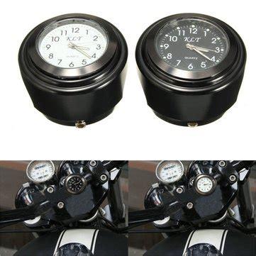 motorcycle bike handlebar mount dial clock watch 7/8inch