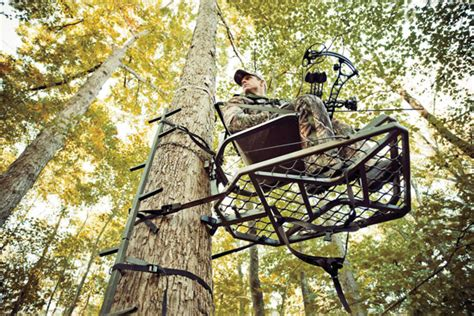 most comfortable tree stand don t stand for it how to prevent treestand theft bowhunter
