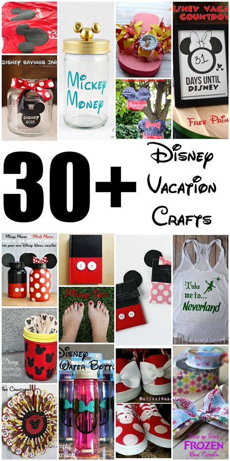 disney crafts for poofy cheeks 30 diy disney crafts for a disney vacation
