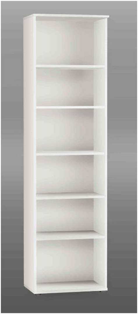 Kitchen Islands And Stools tempra white tall narrow bookcase bookshelf furniture kr02 120