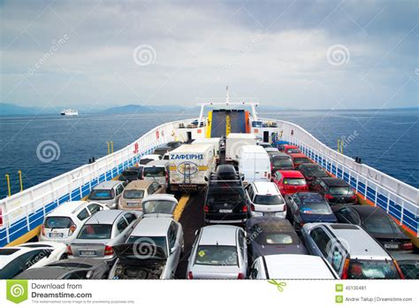 le boat terms and conditions cars on ferry editorial photo image 45130481