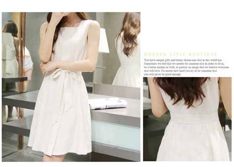 Jual Dress Putih Simple by Dress Putih Cantik Simple 2016 Myrosefashion