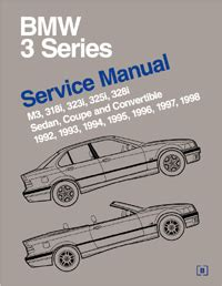 automotive service manuals 1998 bmw 3 series interior lighting 1992 1998 bmw 3 series e36 bentley factory service repair manual