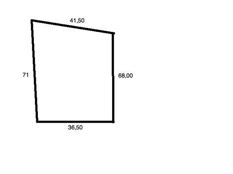 Comment Calculer Une Superficie 5335 by Calcul De Surface D Un Terrain Exercice De Math 233 Matiques