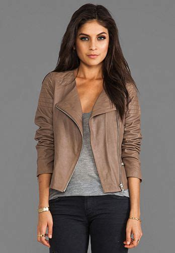Style Ideas 50s Style Cropped Colllarless Jacket by Best 25 Grey Leather Jacket Ideas On Grey