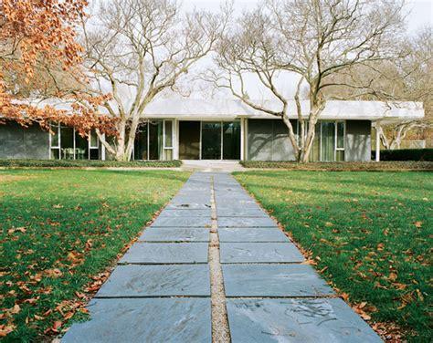 the miller house designed by eero saarinen oen