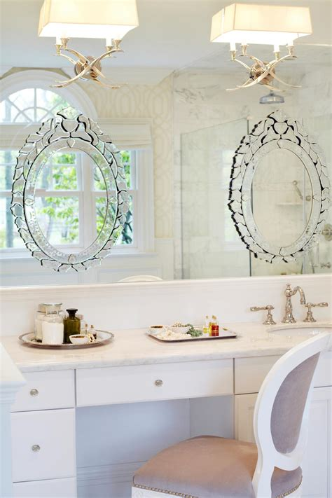venetian bathroom mirror photos hgtv