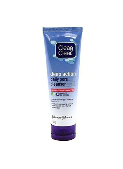 Pembersih Clean Clear Clean Clear Daily Pore Cleanser Tub 100g Klikindomaret