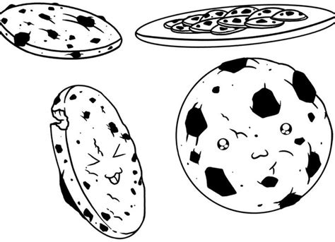 17 Best Images About Sweet Chocolate Coloring Chocolate Cookies Coloring Pages