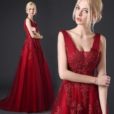 wine colored prom dresses get cheap wine colored prom dresses aliexpress