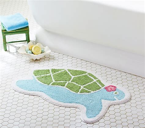 kids bathtub mats turtle shaped bath mat pottery barn kids