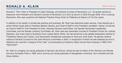 biography sle using third person ebola czar vanishes from democracy alliance website