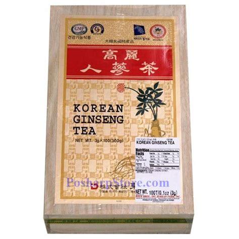 Korean Ginseng Tea korean ginseng tea 100 teabags