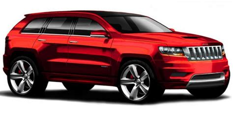 2011 Srt8 Jeep 500 Hp 2011 Jeep Grand Srt8 Coming This Summer