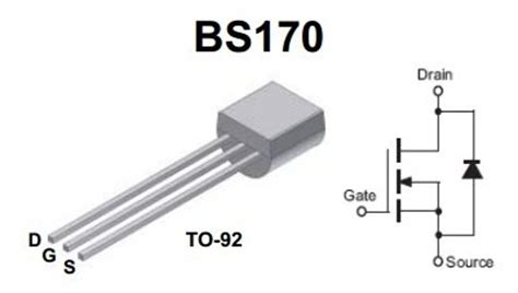 transistor mosfet bs170 irf3205 transistor mosfet canal n images frompo