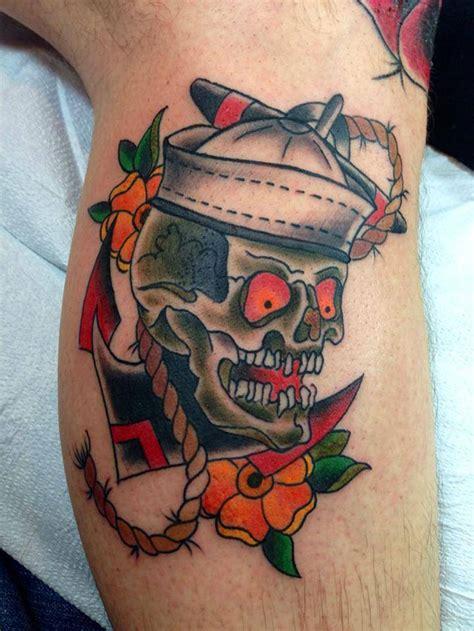 sailor girl tattoos designs sailor skull best design ideas