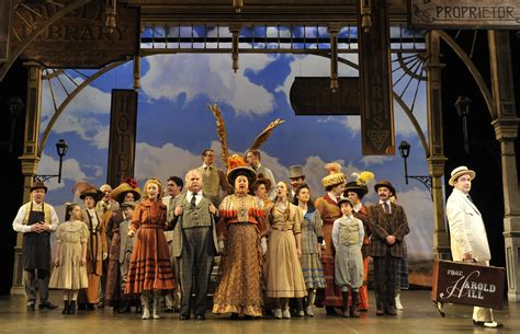 man in the music chicago theater review the music man paramount theatre