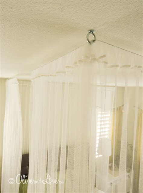 Ceiling Mounted Bed by Magical Diy Bed Canopy Ideas Will Make You Sleep