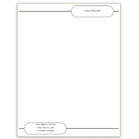 Free Letterhead Templates For Microsoft Word Letter Of Recommendation Microsoft Word Stationery Templates Free