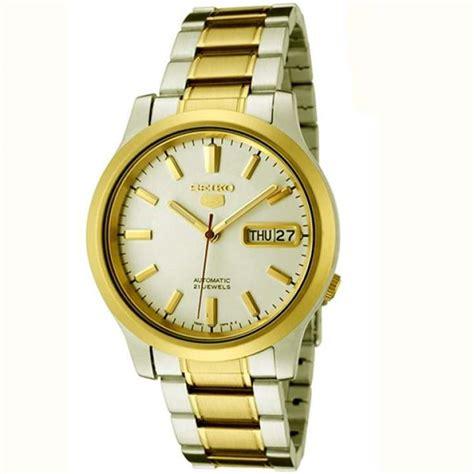 Jam Tangan Seiko Gold seiko 5 automatic jam tangan pria snk790k1 silver gold