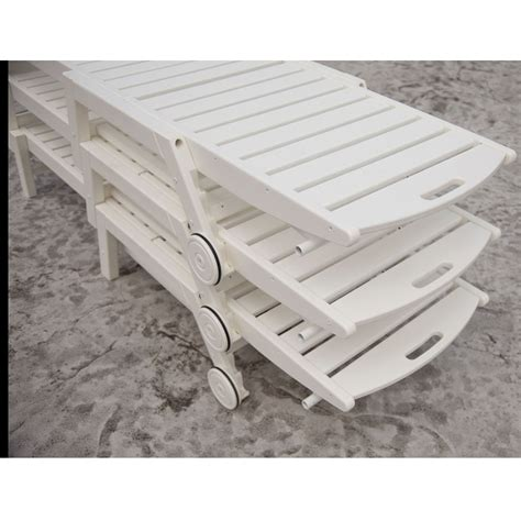 polywood chaise lounge sale polywood 174 nautical chaise set pw nautical set2