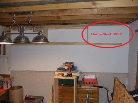 basement workshop update wip woodworking talk