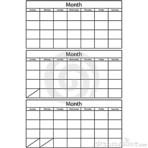 3 day calendar template 3 month calendar template printable calendar templates