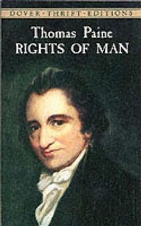 thomas paines rights of 1843546280 the rights of man thomas paine 9780486408934