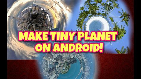 how to make a globe planet photo manipulation in gimp how to make tiny planet or roll world manipulation on
