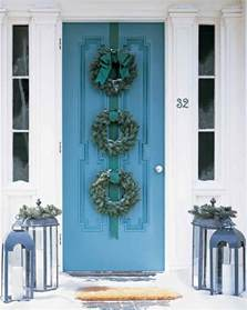 door wreaths wreaths martha stewart