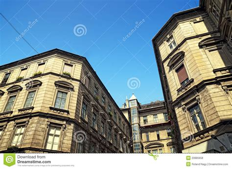 appartments in budapest old apartment building in budapest royalty free stock