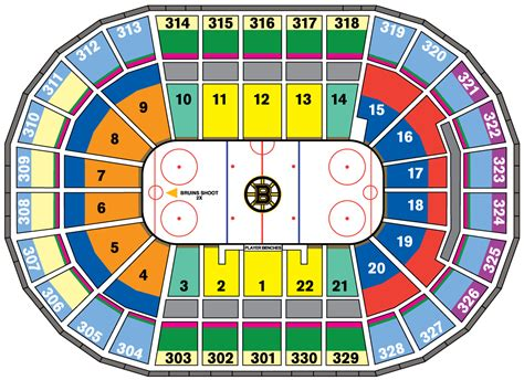 td garden seating bruins season tickets